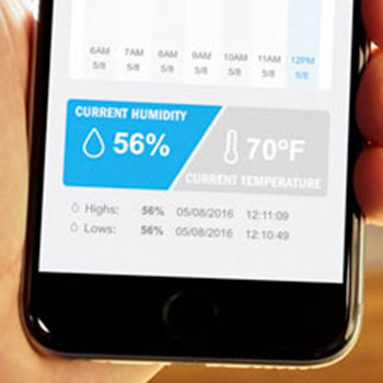 Photo of Humidity Tracking App